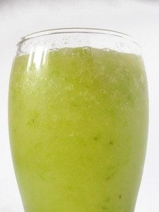 Green Smoothie with Apple